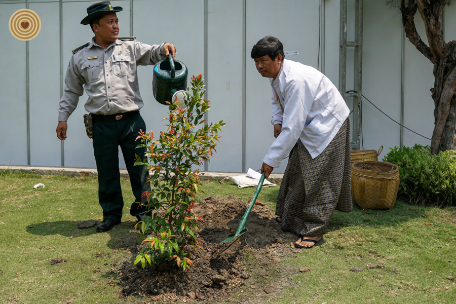 Tree Planting,2018 World Wood Day, Laos