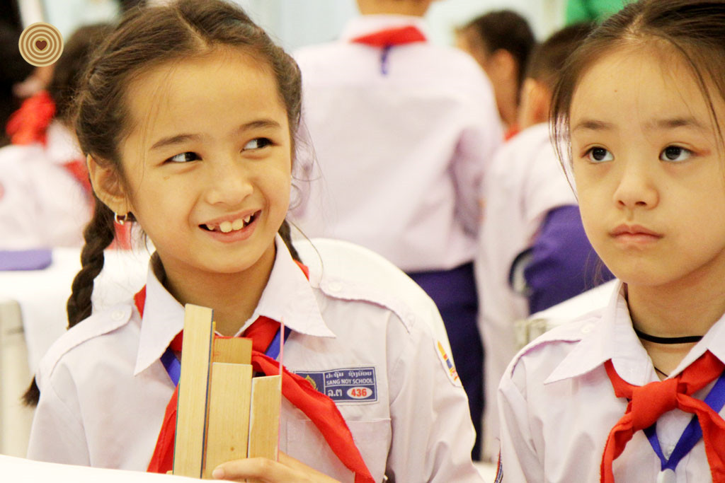 Children's Event, 2018 World Wood Day, Laos