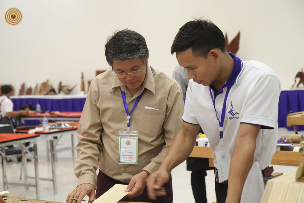 Young Adult Furniture Making Invitational, 2018 World Wood Day, Laos